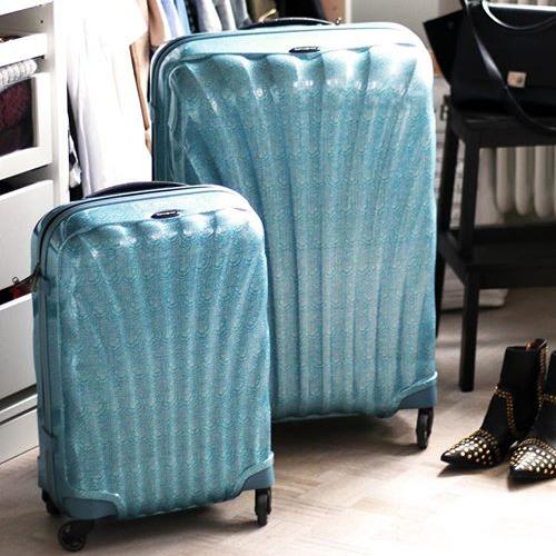 Miniature 3 valise samsonite cosmolite