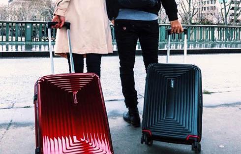 une valise samsonite neopulse pour homme et pour femme